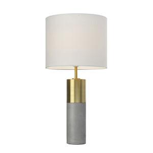 Villeroy & Boch Villeroy & Boch Turin stolná lampa, betón 25 cm
