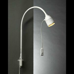 SIS-Light Lôžková LED lampa na čítane flexibilné červené
