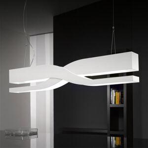 Selene Fifi – biela dizajnérska závesná lampa, 60cm