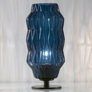 Selene Stolná lampa Origami, modrá