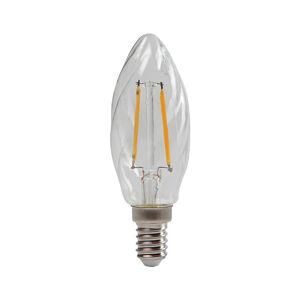 Sylvania Sviečková LED E14 ToLEDo 4,5W 827 číra, točená