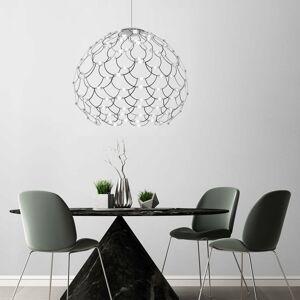 URBAN BY Sforzin Čierne LED závesné svietidlo Lamoi 80cm