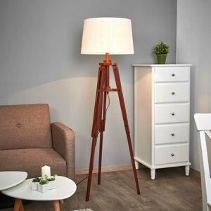SEA-Club Stojaca lampa Marvin z dreva výška 158cm