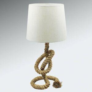 SEA-Club Lanová lampa Lieke s bielym tienidlom