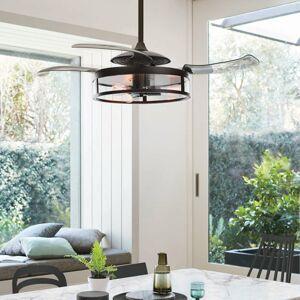 Beacon International Stropný ventilátor Fanaway Classic svetlo, čierny