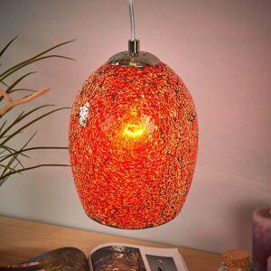 Searchlight Prirodzene tónovaná závesná lampa Crackle