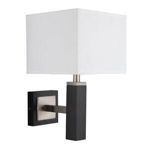 Searchlight Waverley – nástenné svietidlo s bielym tienidlom