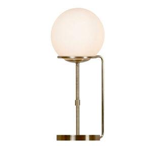 Searchlight Stolná lampa Sphere sklenené guľové tienidlo