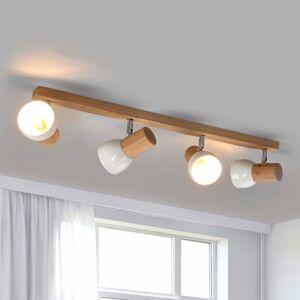 Spot-Light Funkčné stropné svietidlo Svenda – 4-plameňové