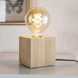 Spot-Light Stolná lampa Trongo kocka olejovaná kábel antracit