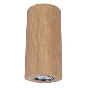 Spot-Light Nástenné svietidlo Wooddream 1-pl dub okrúhle 20cm