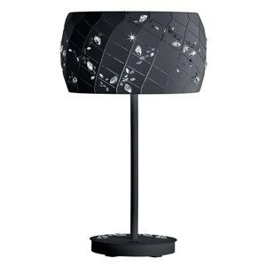 Swarovski Swarovski Apta kryštálová stolná lampa, čierna