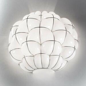 Siru Nástenné svetlo Pouff v bielej a ušľachtilej oceli