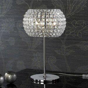 Schuller Stolná lampa DIAMOND s krištáľmi 33 cm