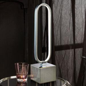 Schuller Stolná LED lampa Colette v skvelom dizajne, chróm