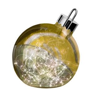 Sompex Dekoračné svetlo Ornament, zlaté, Ø 30 cm