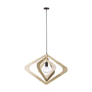 SIGMA Závesná lampa Glam tienidlo v tvare kosoštvorcov