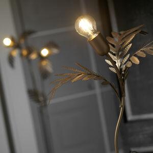 ONLI Stolná lampa Dubai v lístkovom vzhľade, bronz