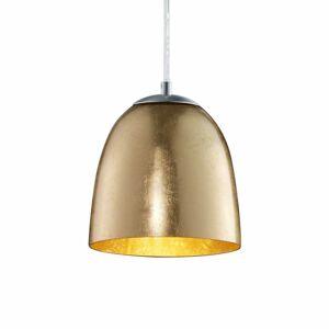 Trio Lighting Malá závesná lampa Ontario zo skla