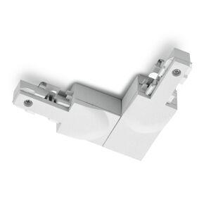 Trio Lighting Rohový konektor DUOline ochranný vodič ext, biely