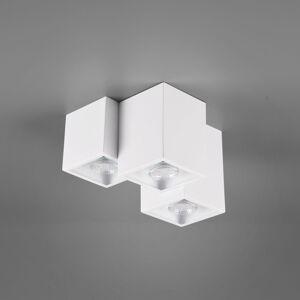 Trio Lighting Stropné svietidlo Fernando, 3-pl., biele matné