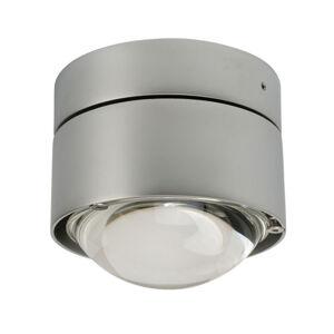 Top Light Stropné LED svietidlo Puk Plus, chróm matný