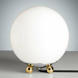 TECNOLUMEN TECNOLUMEN – Art déco stolná lampa mosadz