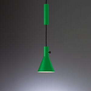 TECNOLUMEN TECNOLUMEN Eleu – závesné LED svietidlo zelené