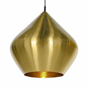 Tom Dixon Tom Dixon Beat Stout – závesná lampa, mosadz