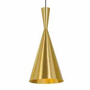 Tom Dixon Tom Dixon Beat Tall – závesná lampa, mosadz