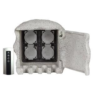 Heitronic S diaľkovým ovládaním – rozdeľovač energie Piedra