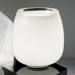 Vistosi Implode – sklenená stolná lampa Ø 38 cm