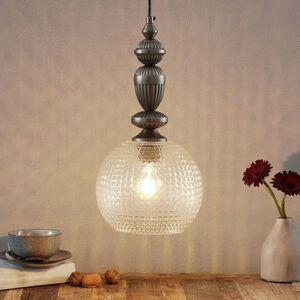 Viokef Talisa – závesná lampa so skleneným tienidlom