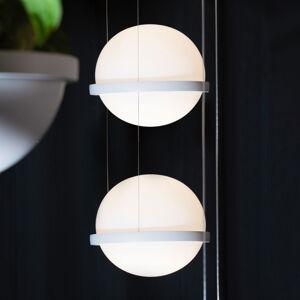Vibia Vibia Palma 3726 závesné LED svietidlo 2-pl, biele