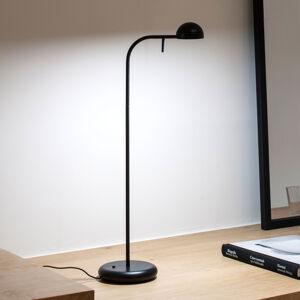 Vibia Vibia Pin 1650 stolná LED lampa dĺžka 23cm čierna