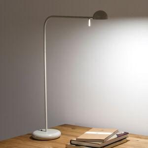 Vibia Vibia Pin 1655 stolná LED lampa dĺžka 40cm biela