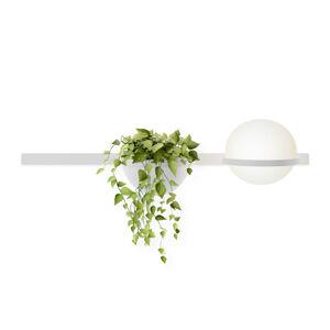 Vibia Vibia Palma 3702 nástenné svietidlo kvetináč biele