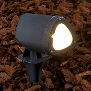 Lucande Bodové LED svetlo Cody s hrotom do zeme