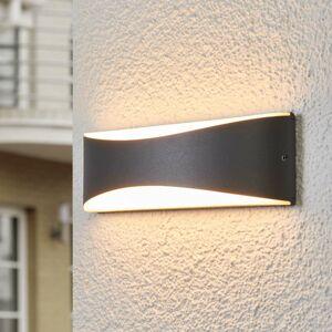 Lucande Vonkajšie LED svietidlo Akira antracitové