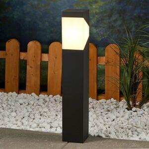 Lucande Soklové LED svietidlo Kiran z hliníka