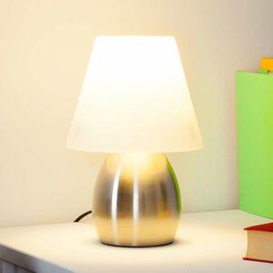 Lindby Dekoratívna stolná lampa Emilan E14 LED žiarovka