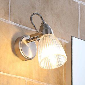 Lindby Kúpeľňové nástenné svietidlo Kara LED 1-pl IP44