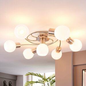 Lindby Stropné LED svietidlo Ciala, 7-plameňové