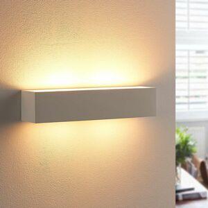 Lindby Sadrové nástenné svietidlo Tjada LED žiarovka G9