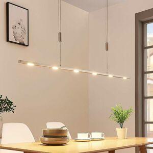 Lucande Jedálenská závesná LED lampa Arnik 120 cm