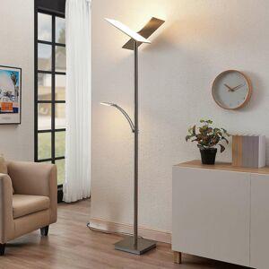 Lucande Lucande stropné LED svietidlo Parthena, nikel