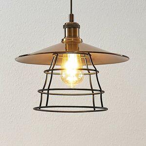 Lindby Lindby Ellmar závesná lampa z mosadze