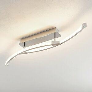 Lindby Lindby Rouven stropné LED svietidlo špirála, 4-pl.