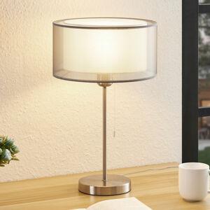 Lindby Lindby Taxima stolná lampa, sivá