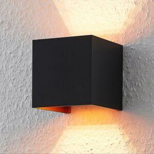 ELC ELC Jördis nástenná svetlo, štvorcová, čierna